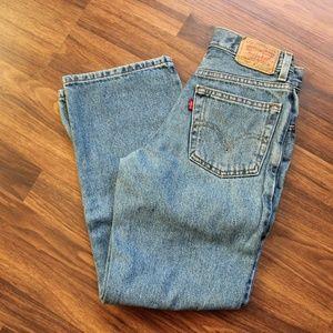 Boy's Levi 550 Jeans